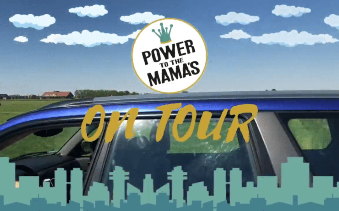 Power to the Mama's on tour met Marsha Regensburg