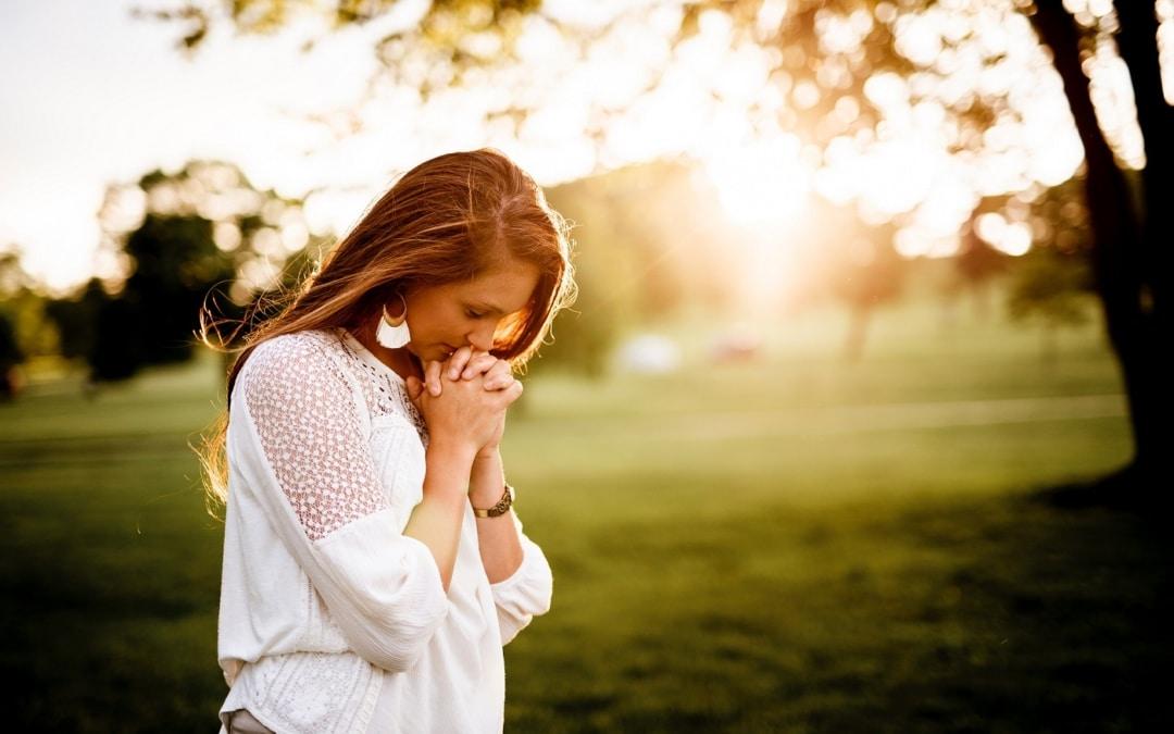 Een kring van gebed