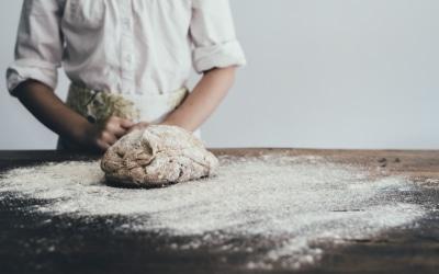 Als brood in de handen van de Meesterbakker