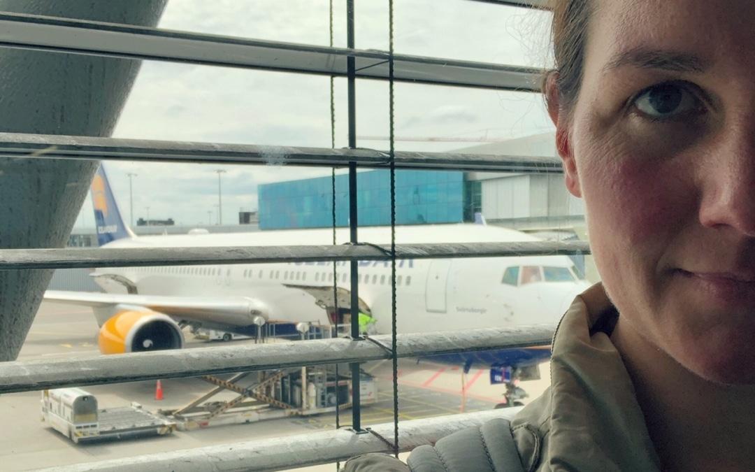 Moeder alleen op reis