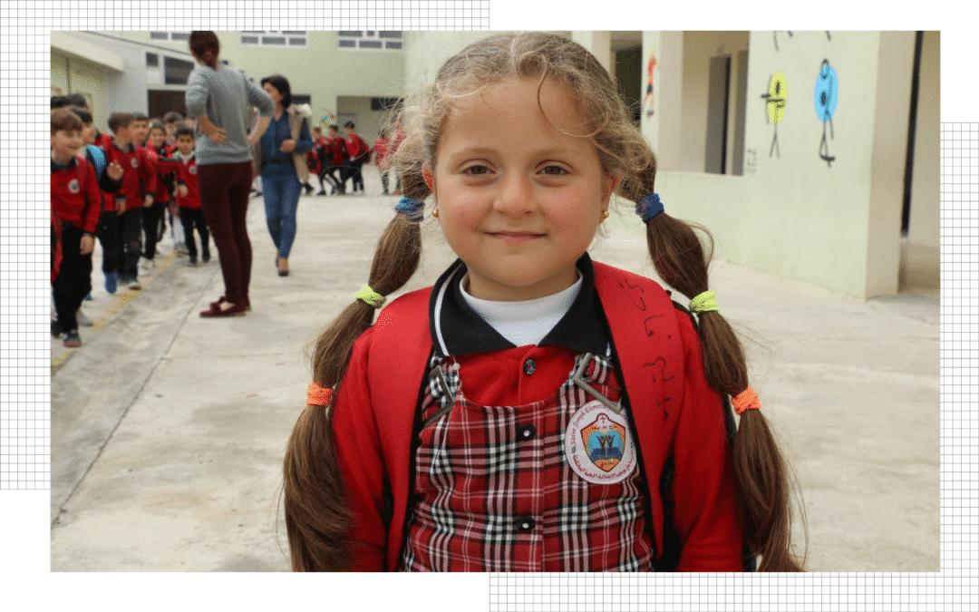 Geef kleur aan de school van Maryam