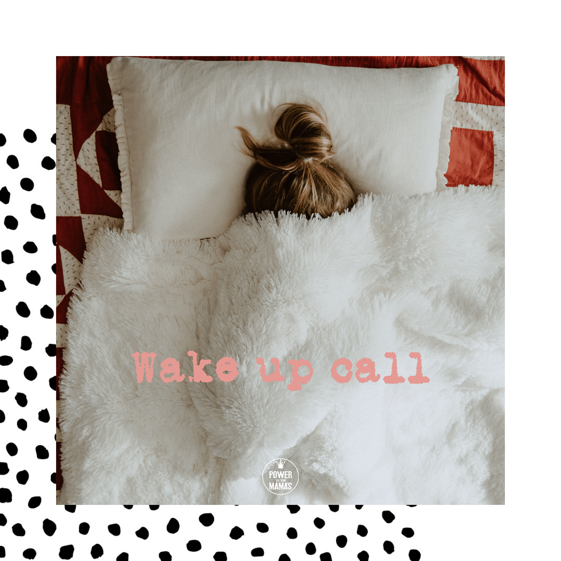 Wake-up call voor een struisvogel