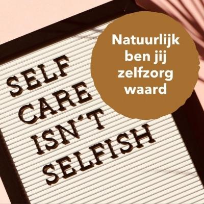 Project selfcare voor moeders: opladen en opgeladen blijven